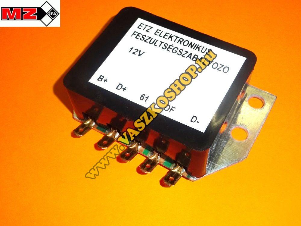 Feszültség szabályozó (12V) ETZ 125/150/250