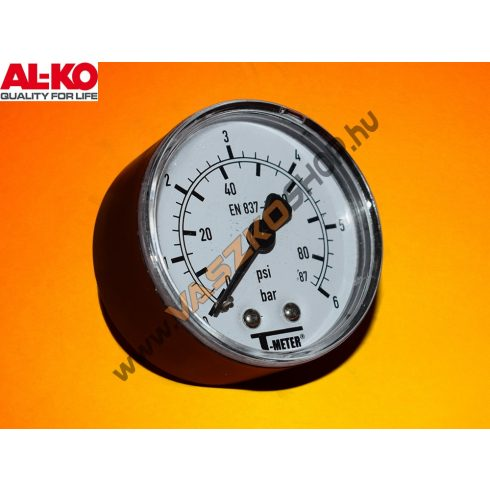 Nyomásmérő óra AL-KO HW , HWF