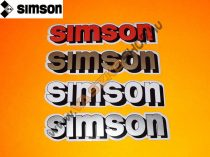 Matrica motor Simson tank (több szín)