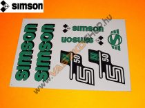 Matrica Simson S50N (több szín)