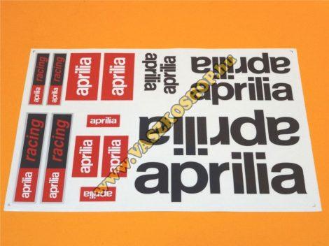 Matrica Aprilia Racing (több típus + szín)