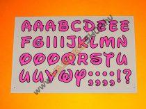 Matrica Disney betűk (több szín)