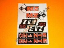 Matrica ETZ (több változat)