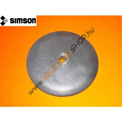 Agydekni bal első (aluminium) Simson