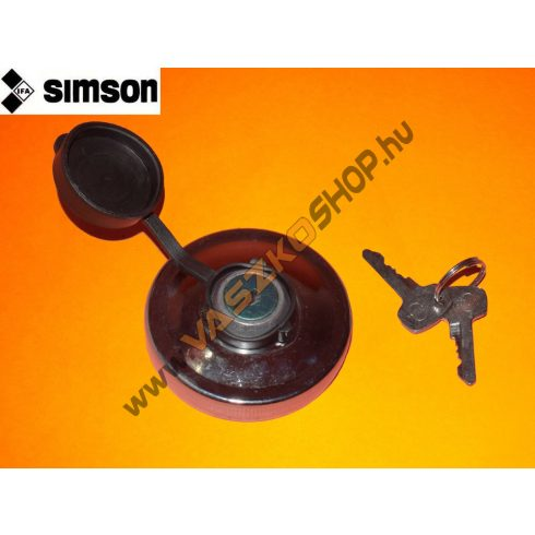 Üzemanyagtartály sapka zárható Simson