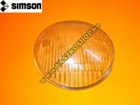 Fényszóró üveg Simson