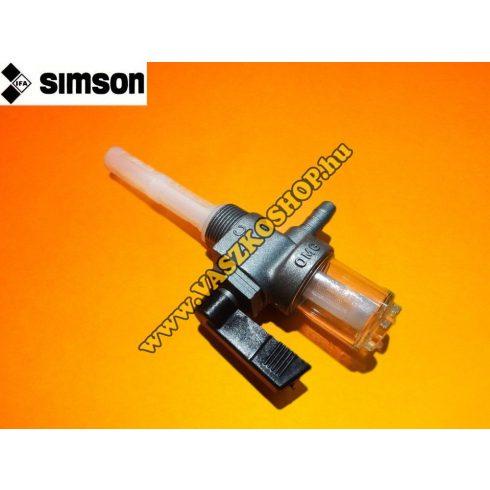 Üzemanyag csap Simson (ülepítős)