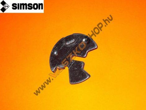 Súbertű tartó lemez Simson S50