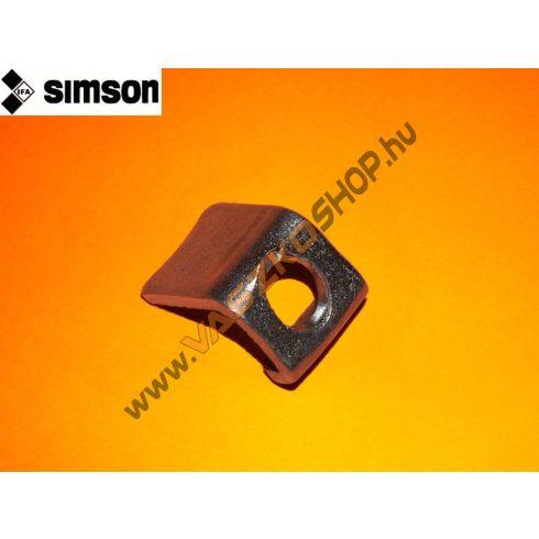 Gázhúzó cső rögzítő lemez Simson