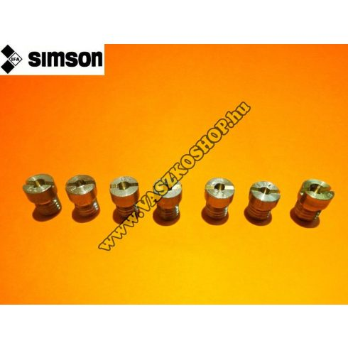 Karburátor fúvókák (több méretben) Simson