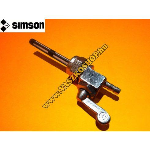 Üzemanyag csap Simson (ülepítő nélküli)