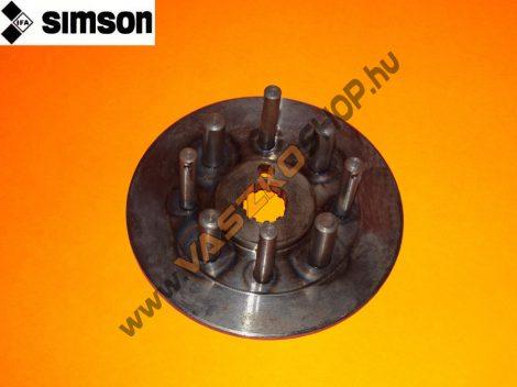Kuplung agy Simson S50
