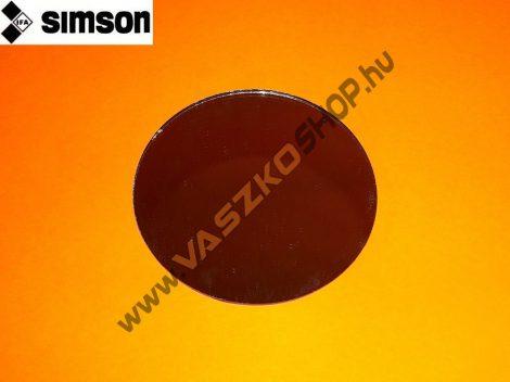 Tükörlap kerek (12 cm) Simson