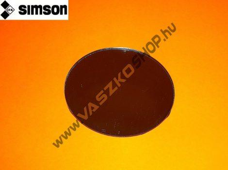 Tükörlap kerek (9,5 cm) Simson