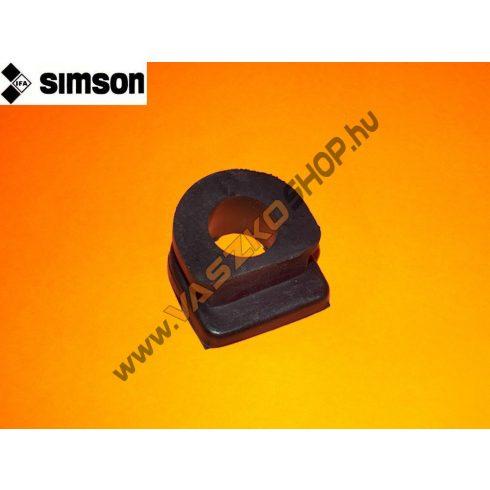 Blokk közép gumidugó (lyukas) Simson