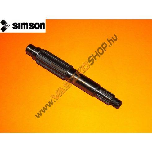 Lánckerék tengely első Simson S50