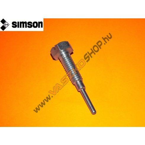 Alapjárat állító csavar Simson S50