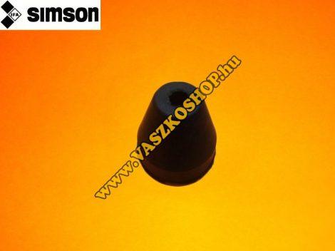 Fékbowden porvédő gumi Simson