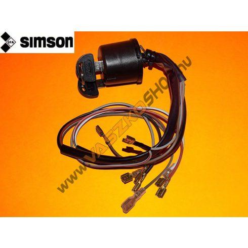Gyújtáskapcsoló (7 vezetékes) Simson