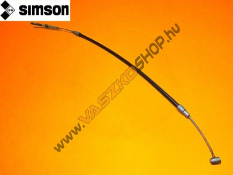 Fékbowden hátsó külső fékkulcsos (510mm) Simson Star