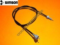 Kilométer spirál bowden (780mm) Simson