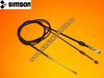 Kuplungbowden rövid (1050mm) Simson