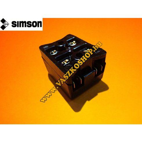 Biztosíték tartó tábla (kettes) Simson