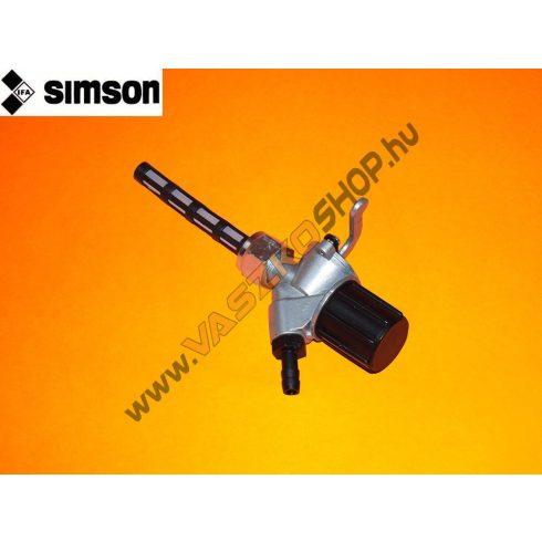 Üzemanyag csap Simson (gyári)