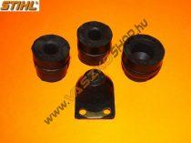 Rezgéscsillapító gumi készlet Stihl MS 240 / MS 260 / MS 380 / MS 381